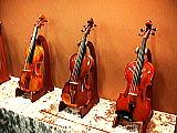 新作のヴァイオリン