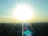爆発する太陽