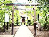 三宝寺池の水神社