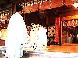 浦安の舞と奉納
